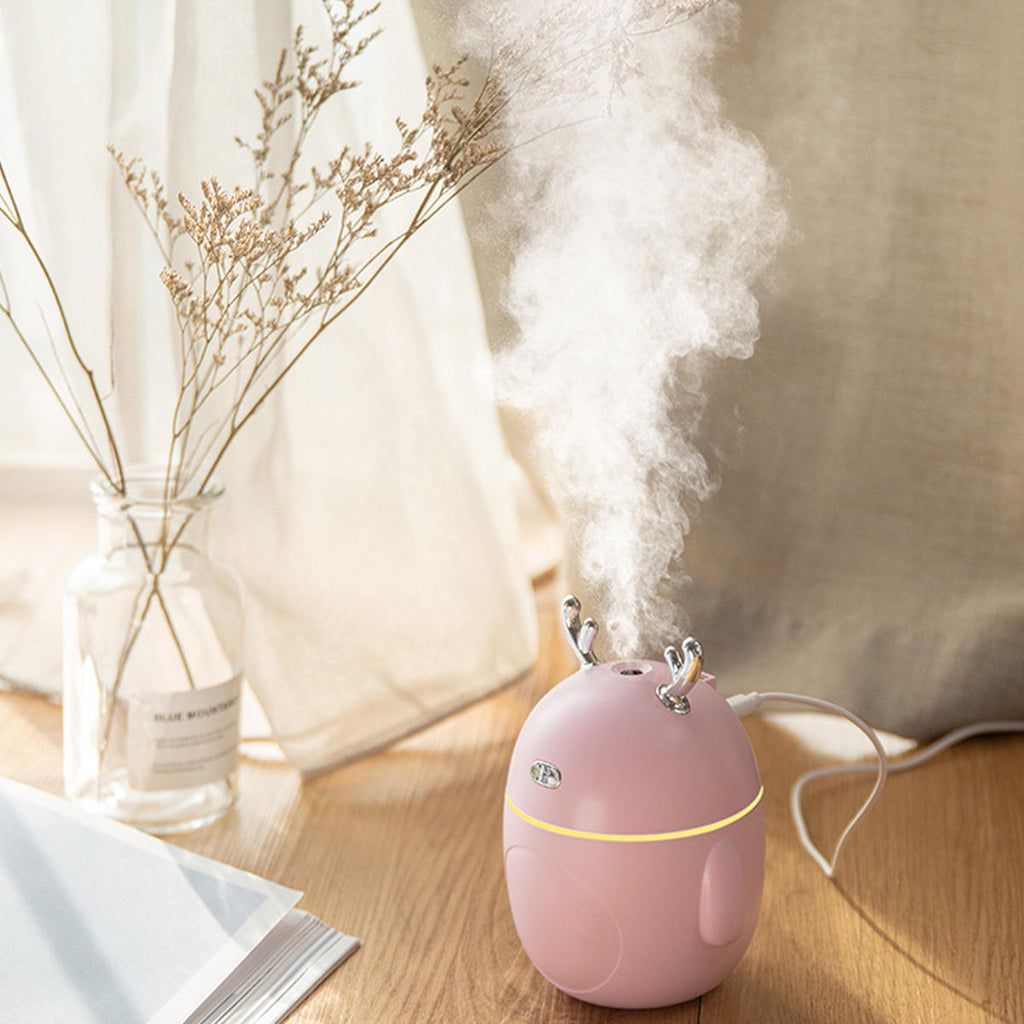 Mini Air Humidifier Purifier Aroma Diffuser for Home Car Office