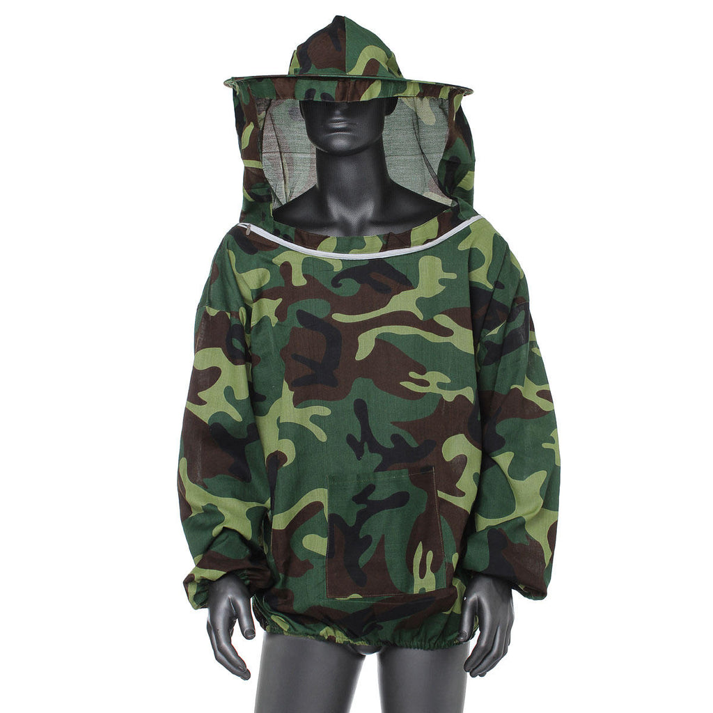 Beekeeping hat veil jacket in Camouflage Green