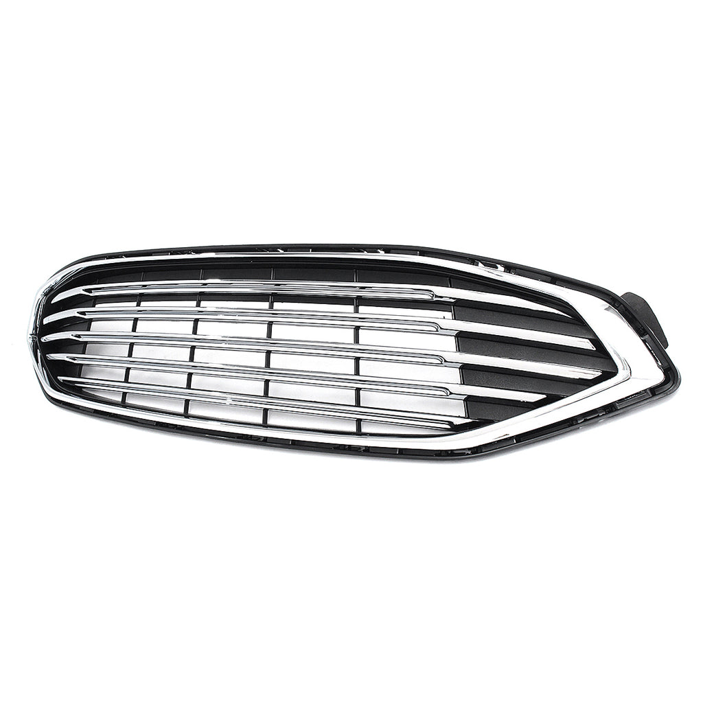 RitePart™ Car Grille Replacement Ford Fusion 2017-2018 Upper Front Bumper Radiator Hood HS73-8200