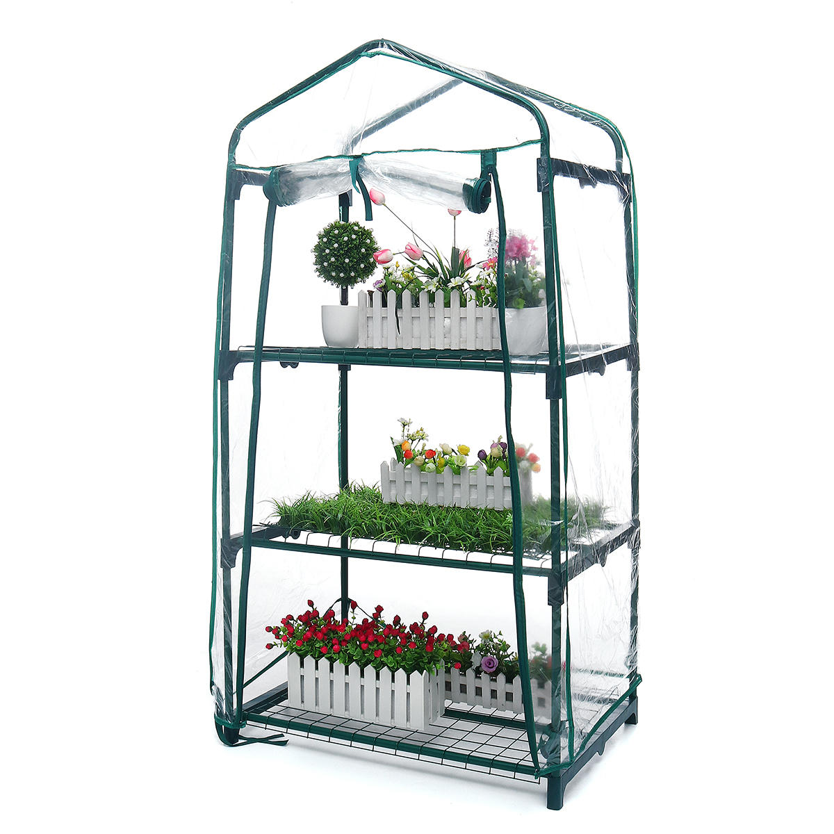 Backyard Indoor Outdoor Plant Greenhouse