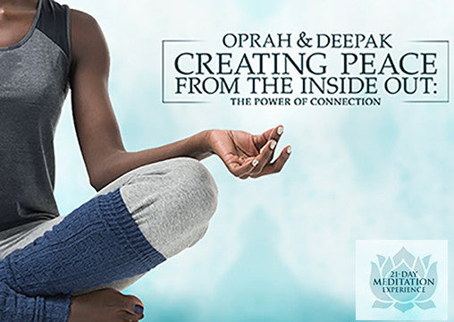 Deepak & Oprah's Free Meditation! It's Happening Now! Let's Do this!!