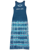 """Love Life"" Denim Blue Long Dress"