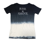 Black & White Rise & Shine Organic Boys Shirt