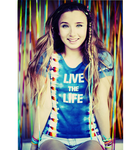 Live the Life Rainbow Petit T-shirt