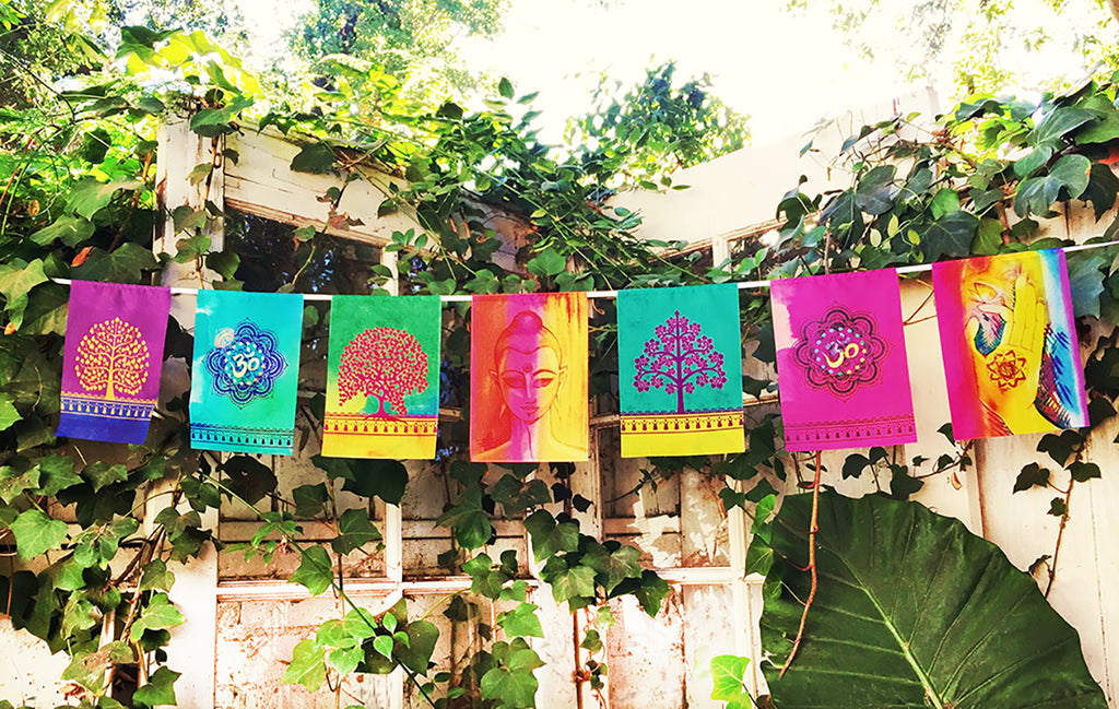 """MY BUDDHA NATURE"" prayer flag"