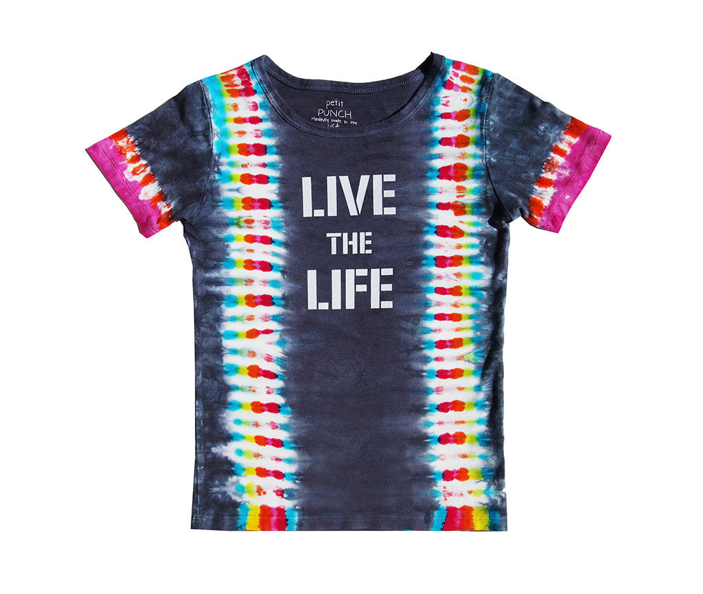 Live the Life Black Rainbow t-shirt