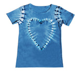 Denim Blue Brave  Heart