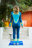 Awakened Heart Deep Turquoise Lounge Set