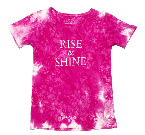 """Rise & Shine"" Organic Girls T-shirt"