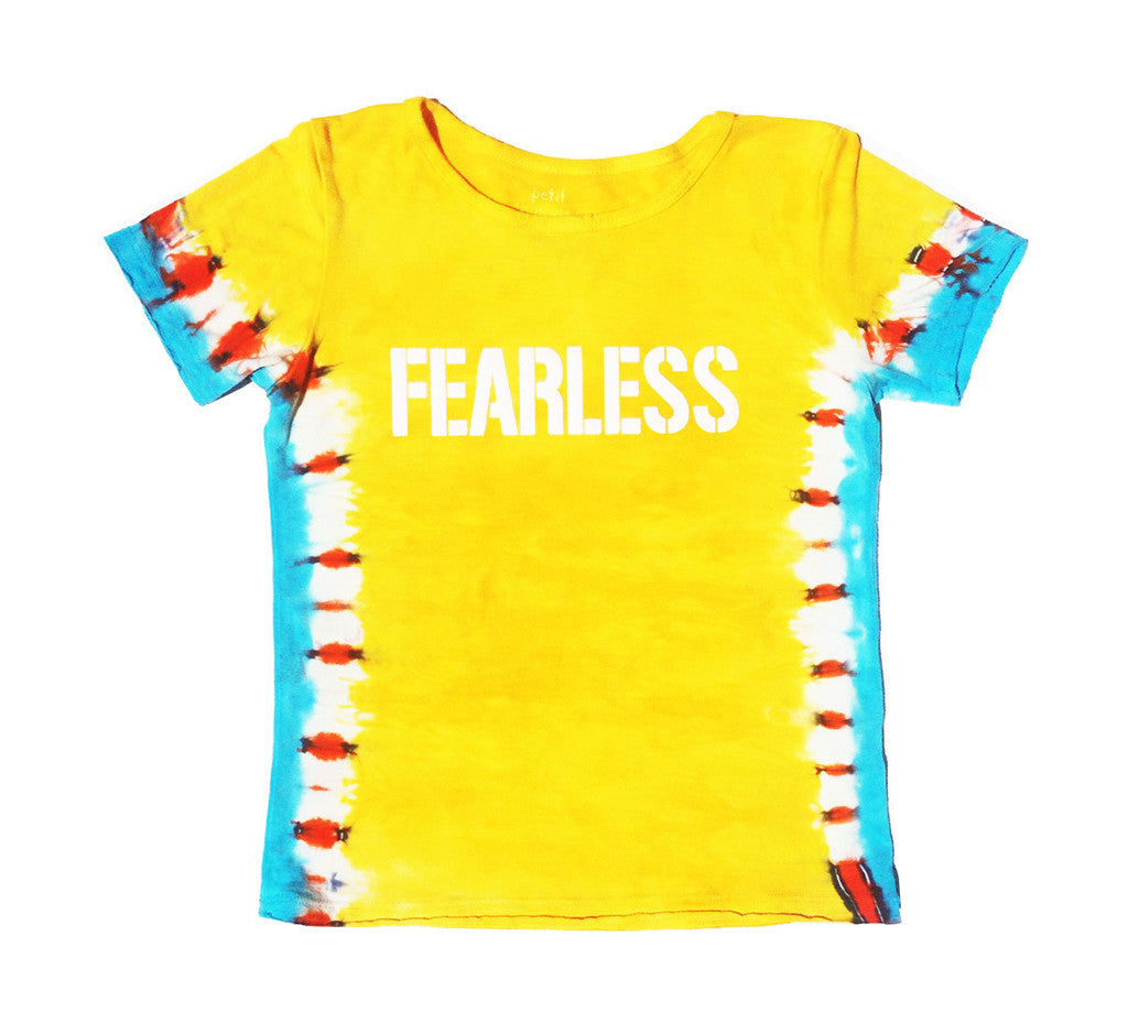 Vibrant Yellow Fearless Tiger Shirt