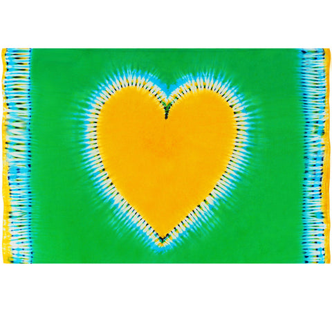 Green Sunshine Live in Love Throw