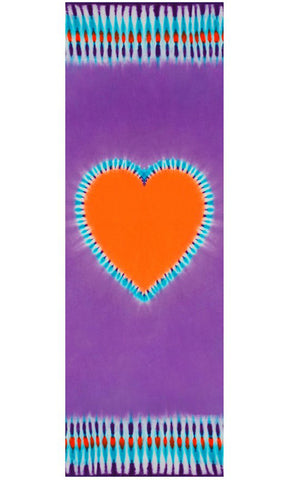 "Lavender Bliss ""Live in Love""  Eco Yoga Mat"