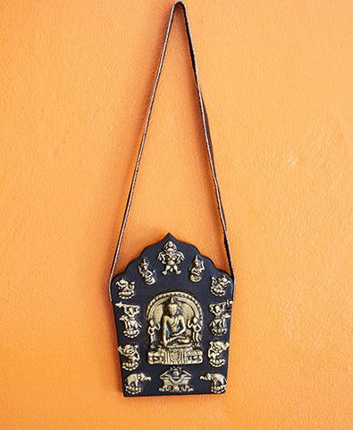 Carved Wooden Buddha Shakyamuni Art Wall Hangings