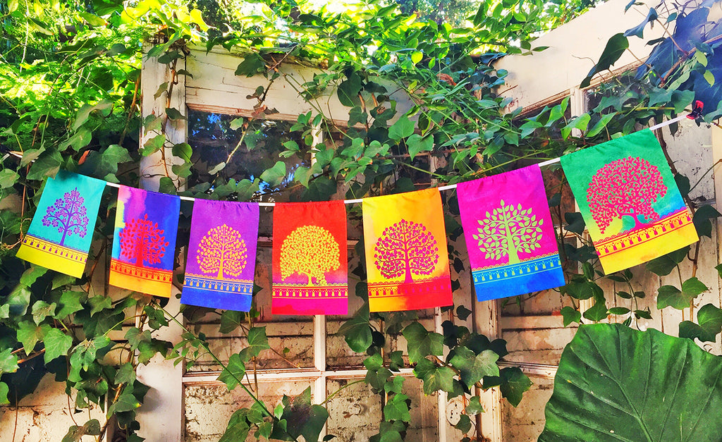 """ TREE OF LIFE "" Prayer Flag"