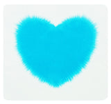 Sweetest Turquoise heart Baby  Mini Throw