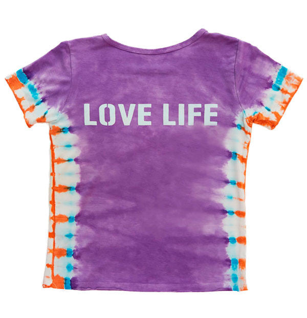 Lavender Love Life Back Girls T-shirt