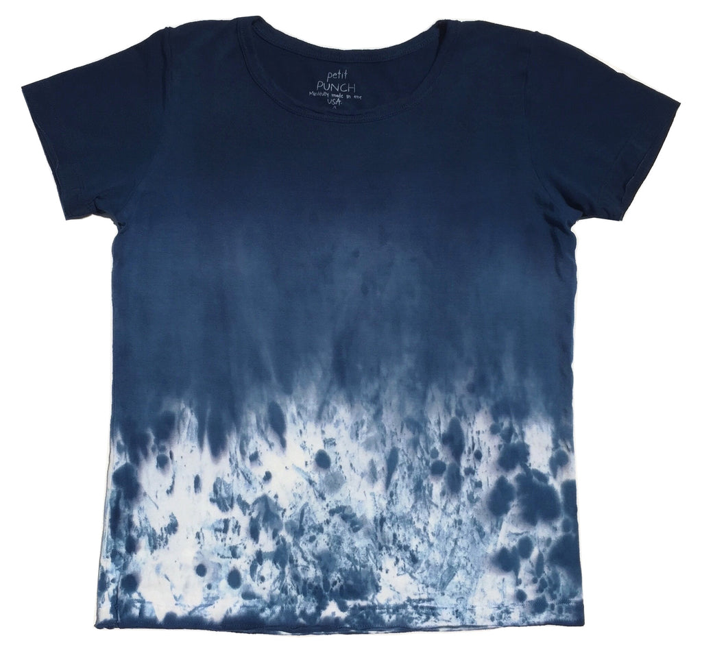 Wild Indigo Splat Boys Shirt