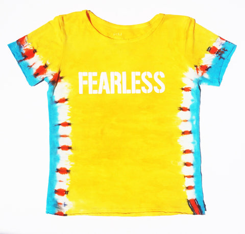 """FEARLESS"" Yellow T-Shirt"