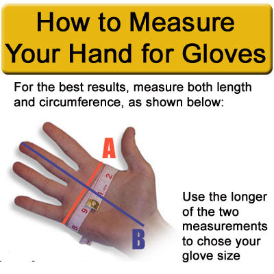 How to Measure Your Hand for Slytech Ski Racing Gloves