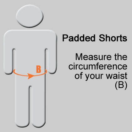 How to Measure for Vigilante Padded Shorts