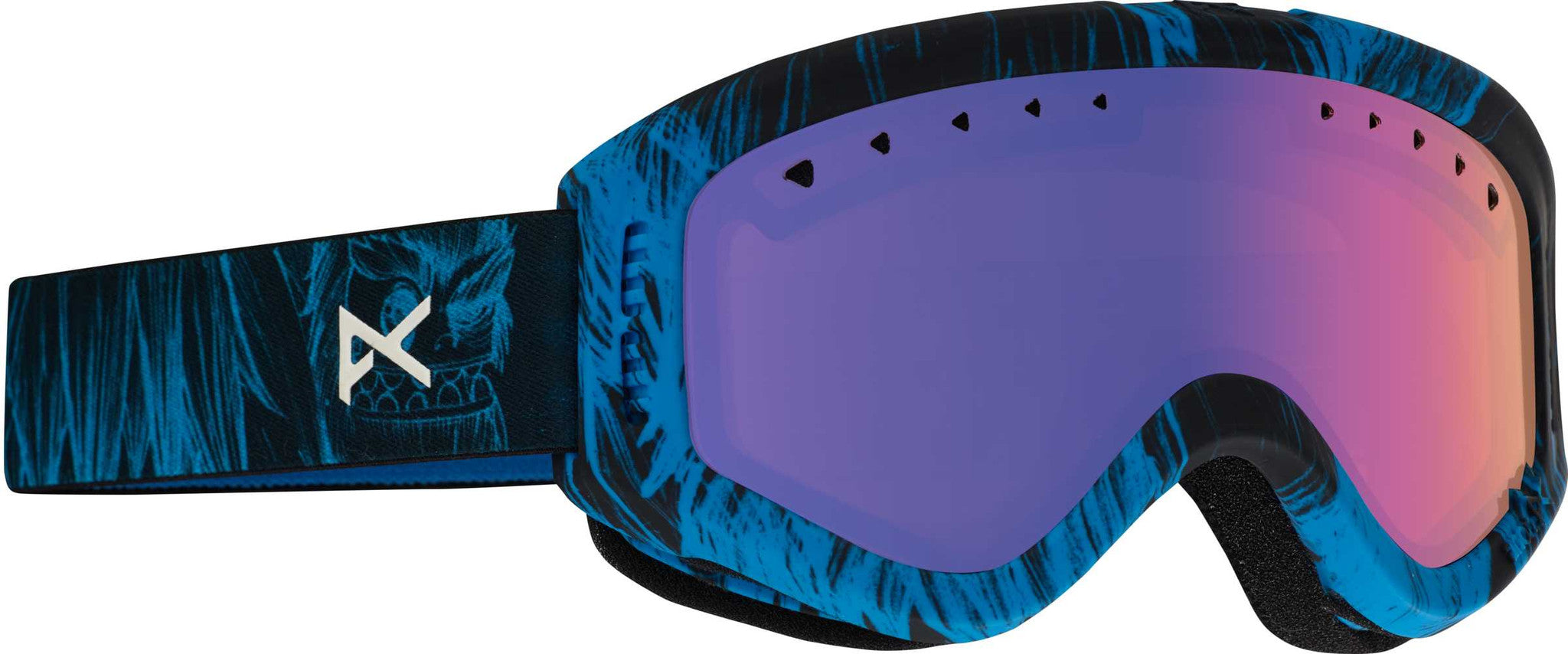 Anon Tracker Youth Snow Goggle - Sulley/Blue Amber Lens