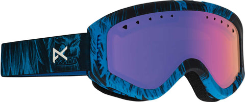 Anon Tracker Youth Snow Goggle - Black/Amber Lens