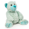 Soft cuddly and adorable bear blue