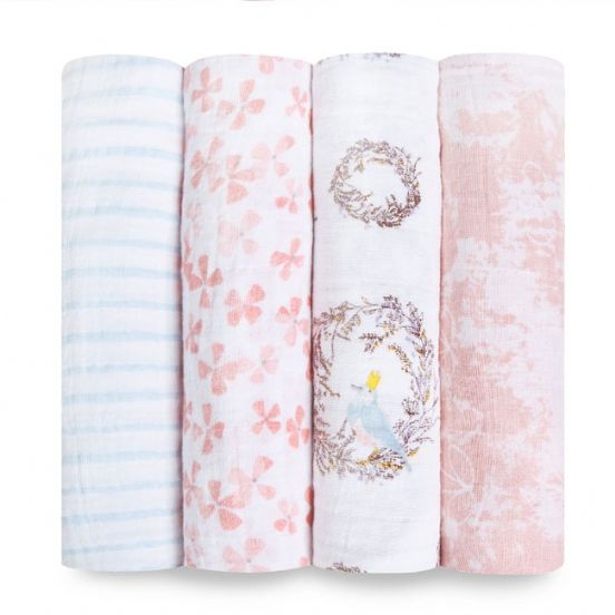 Aden + anais birdsong Classic Swaddle - 4 Pack