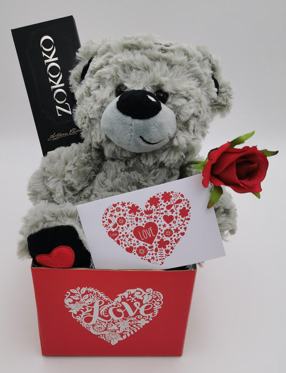 Basic Bear & Rose Hamper