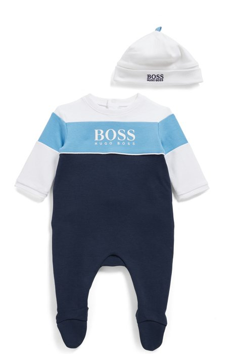 Hugo Boss Baby's Babygrow Set Dark Blue
