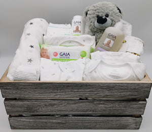 Ultimate Baby Hamper with Bear - Neutral