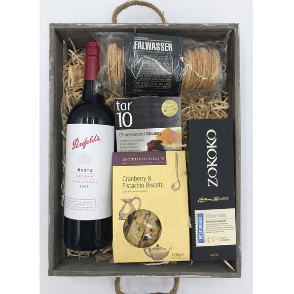 Premium Wine and Sweets Hamper