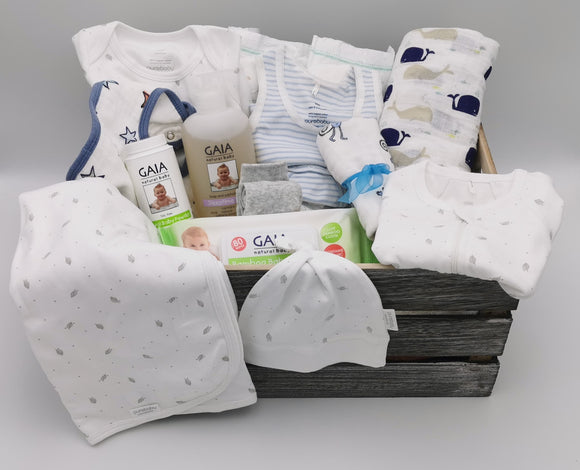Ultimate Baby Hamper - Baby Blue