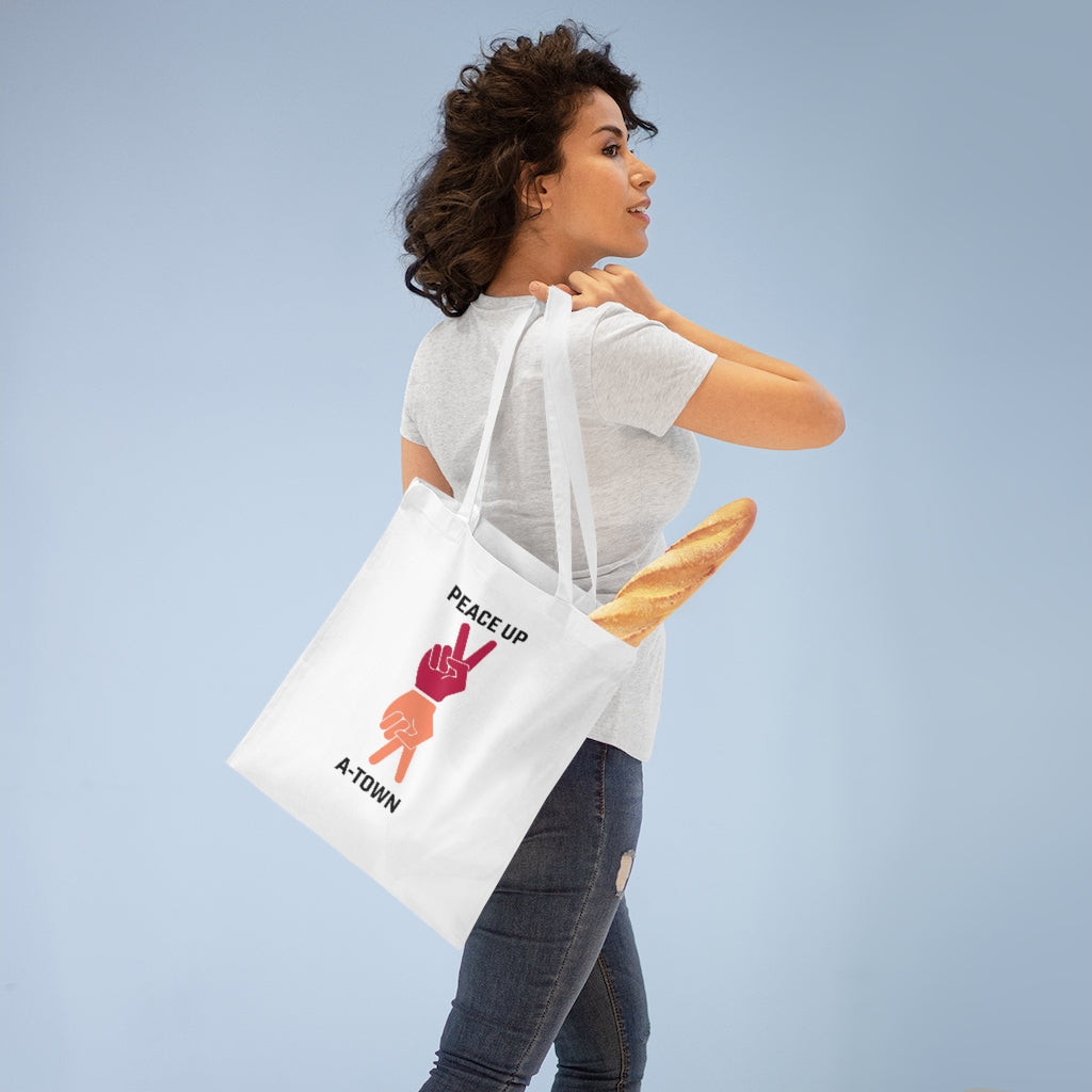Peace Up A-Town Tote Bag