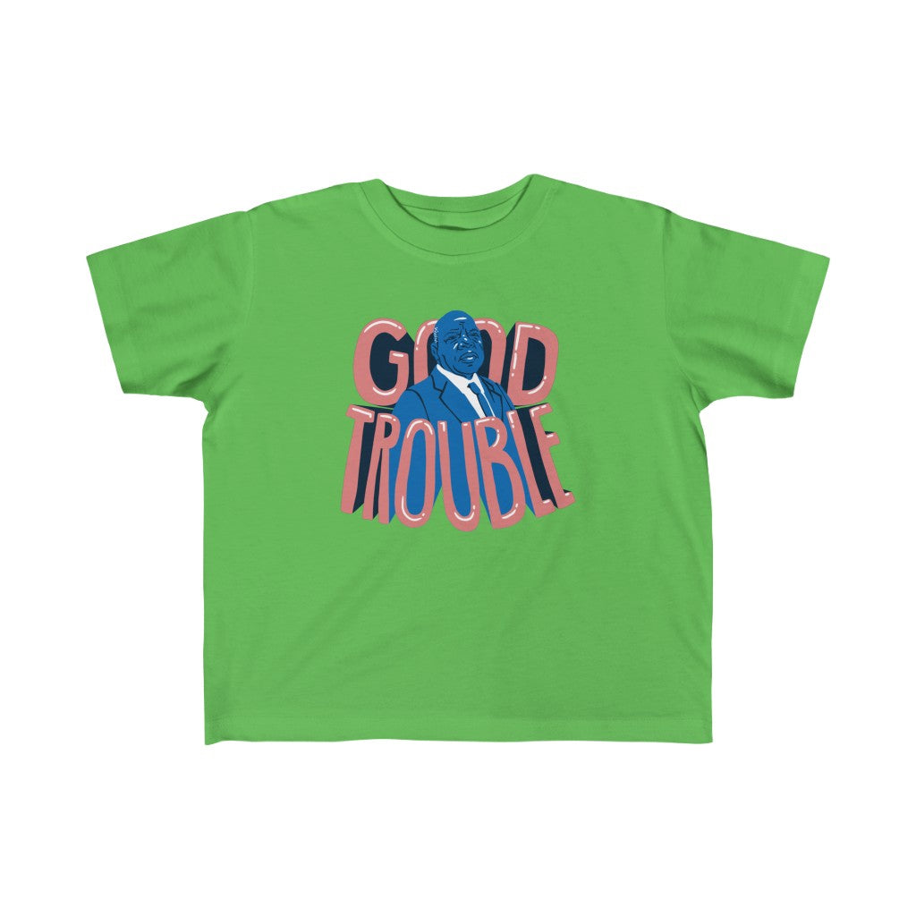 Kid's Good Trouble John Lewis Tee