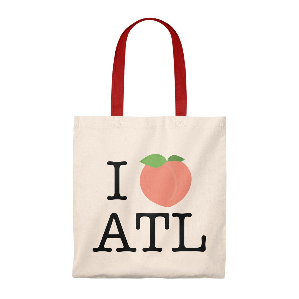I Peach ATL Tote Bag