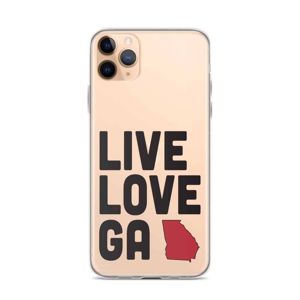 Live Love GA iPhone Case