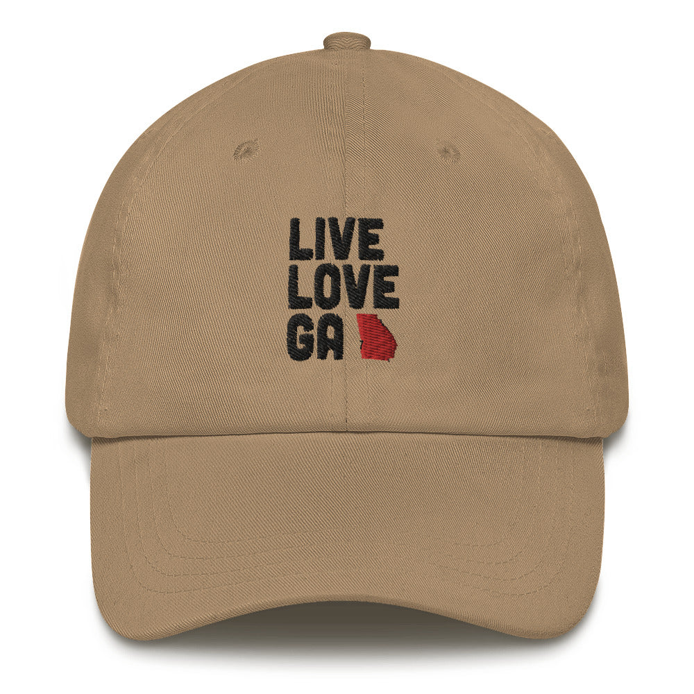 Live Love GA Dad hat
