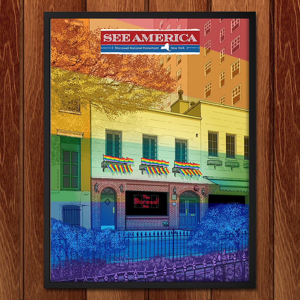 Stonewall National Monument by Brixton Doyle for See America - 2