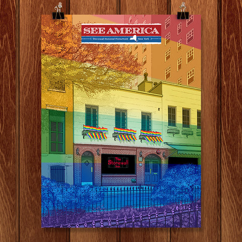 Stonewall National Monument by Brixton Doyle for See America - 1