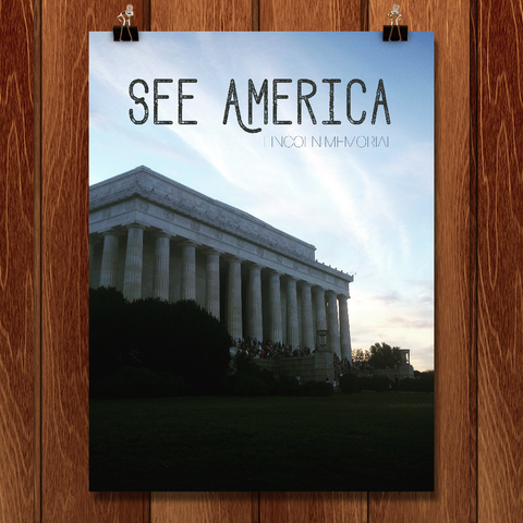 Lincoln Memorial by Emily Corley for See America - 1