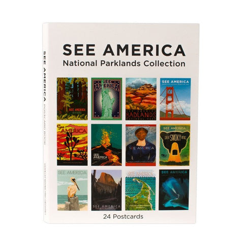 See America Postcard Book for See America - 1