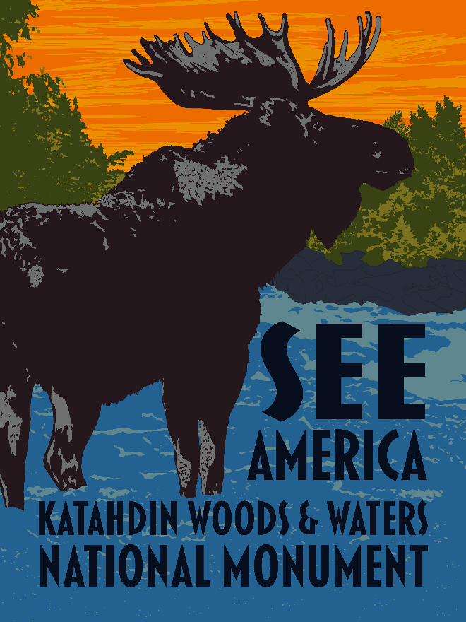 Katahdin Woods & Waters National Monument by Mark Forton for See America - 3