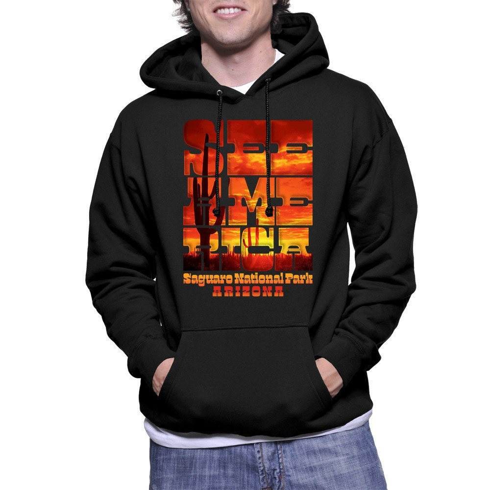 Saguaro National Park Hoodie by Roberlan Borges for See America