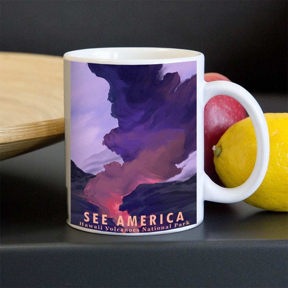 Hawaii Volcanoes National Park Mug by Alyssa Winans for See America