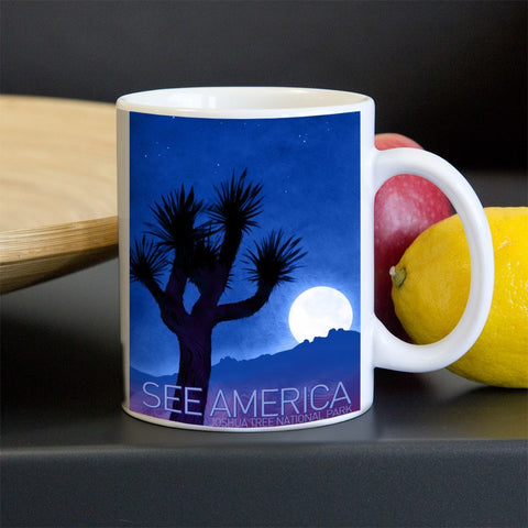 Joshua Tree National Park Mug by Adam S. Doyle for See America