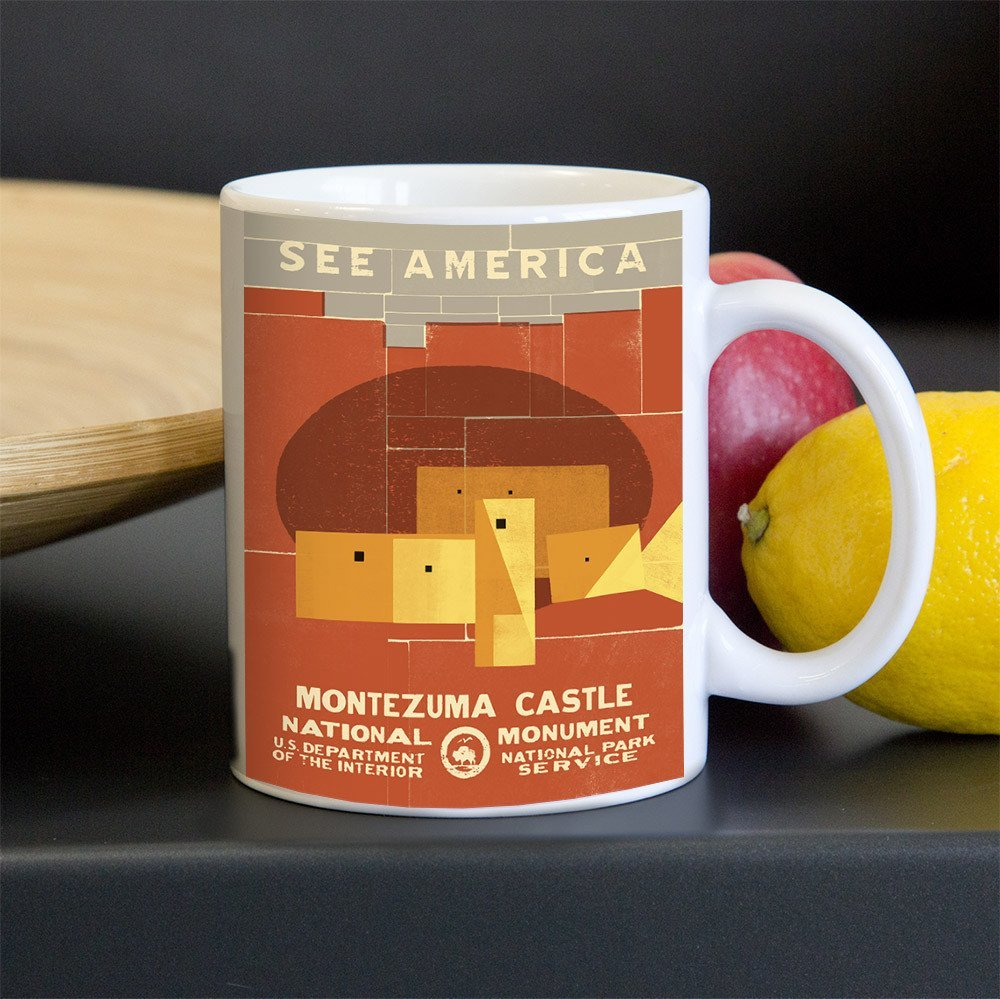 Montezuma Castle National Monument Mug by Mr. Furious for See America