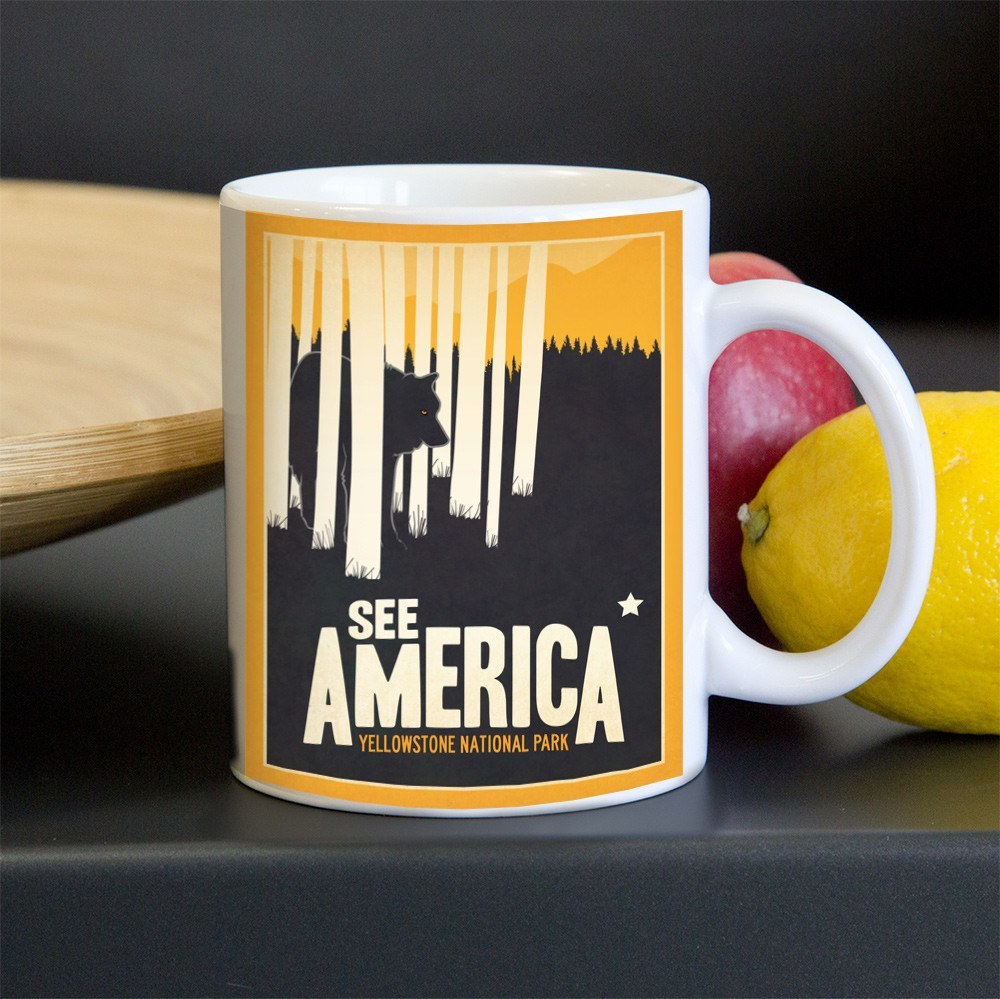 Yellowstone National Park Mug by Matt Brass for See America