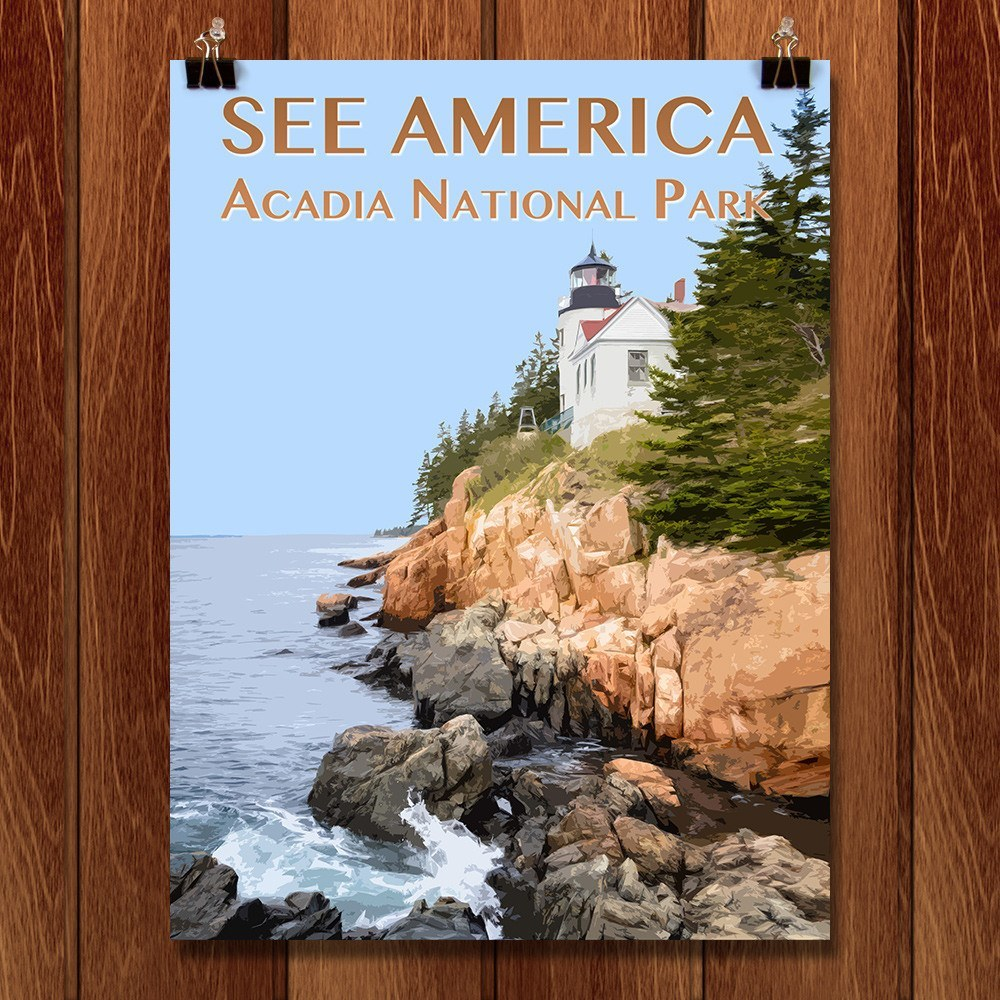 Acadia National Park by Zack Frank for See America - 1