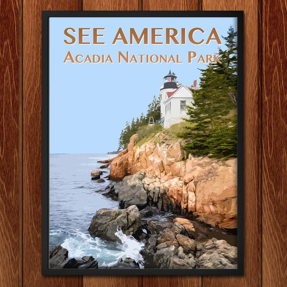 Acadia National Park by Zack Frank for See America - 2